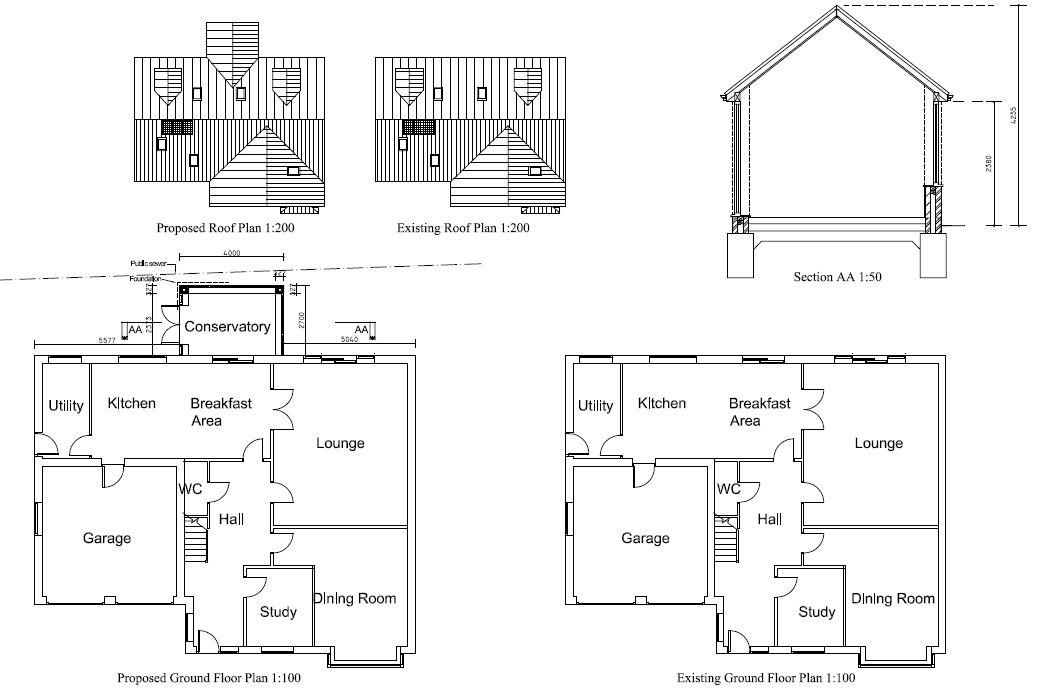 Architectural plans design service