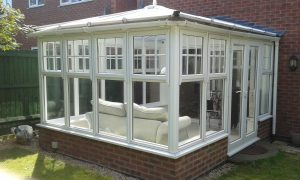 We design plans for a conservatory