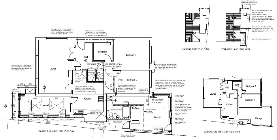 Garage conversion design plans
